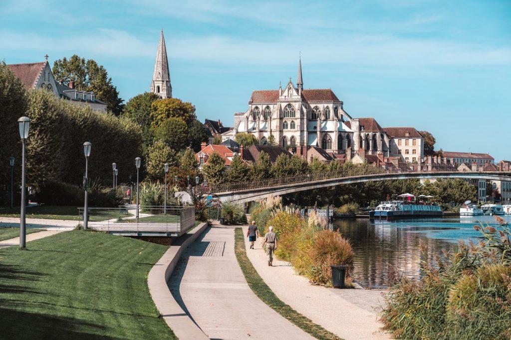 L'Yonne à Auxerre